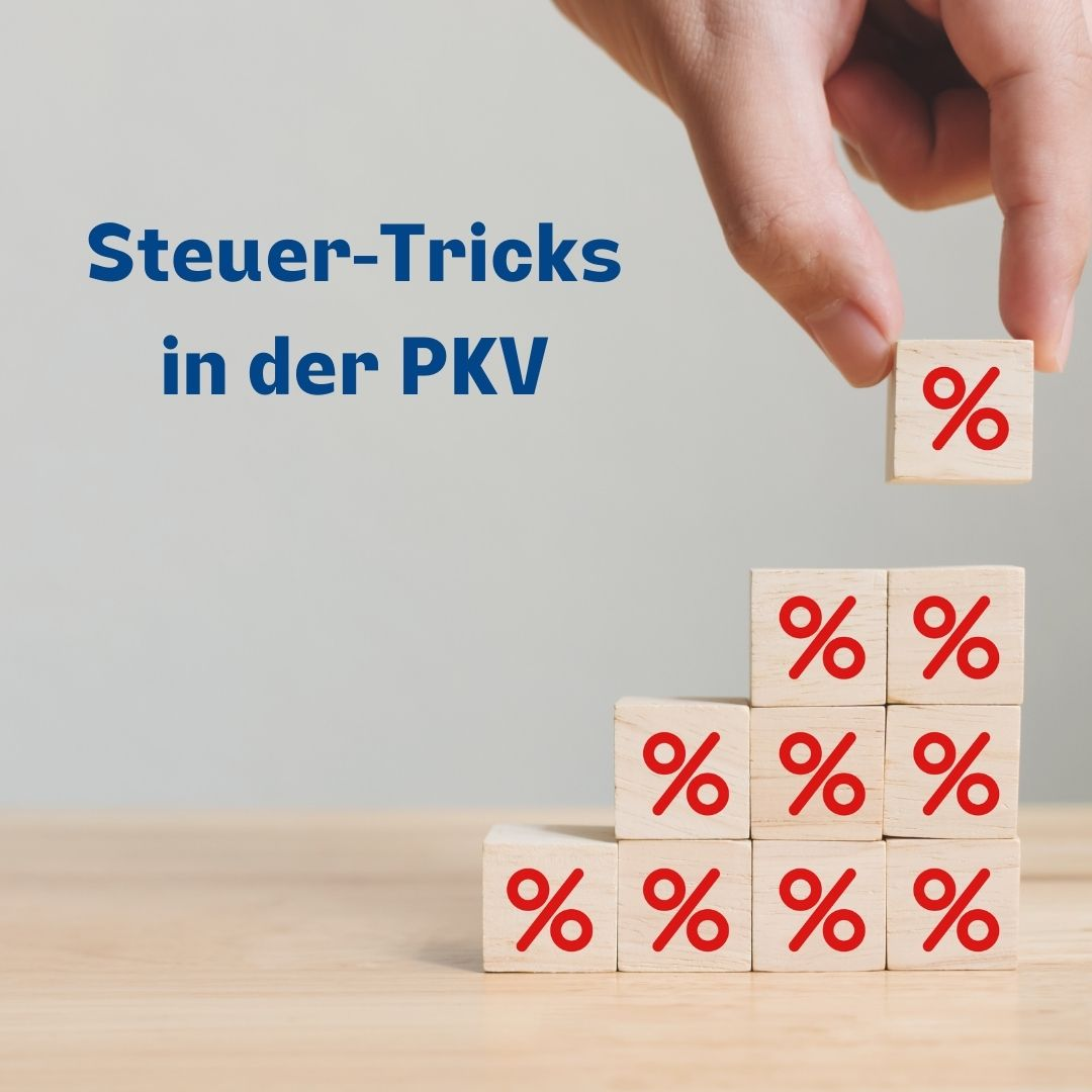 Steuer-Tricks PKV